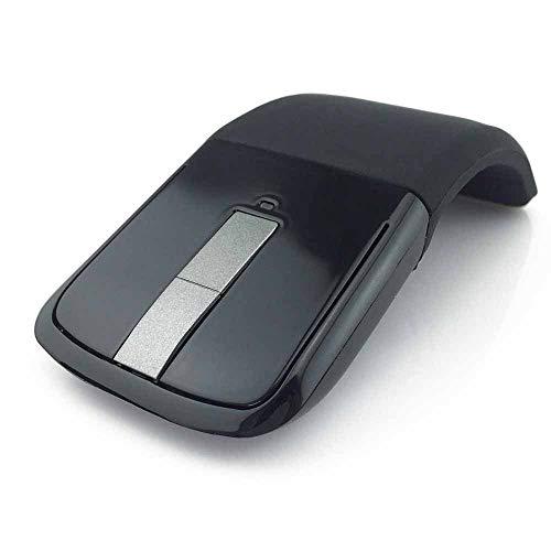 Preisvergleich Produktbild Lxquxing Computer 2, 4 GHz Faltbare Drahtlose Maus Folding Arc Touch Schlanke Maus Computer Gaming Mäusemäuse for Microsoft Surface PC Laptop Elektronische Peripherie