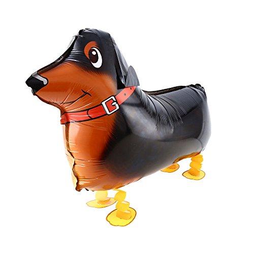 DekoRex® Airwalker Walking Pets Folienballon Foilballoon Tiere: Dackel