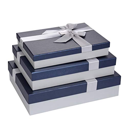 Bridesmaids Gift Boxes with Lids Cupcake Crafting White Chocolate WantGor 10 Pack 4x4x4inch Kraft Paper Gift Wrap Boxes for Gifts
