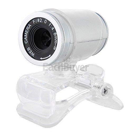 KCatsy USB-Videokamera, 5 MP, 720P, HD, 360° Rotation, verstellbare Lichtrekorrektur, integrierte Mikrofone, Videokamera für Netzwerkunterricht, Konferenzen weiß weiß 12MP 1080P