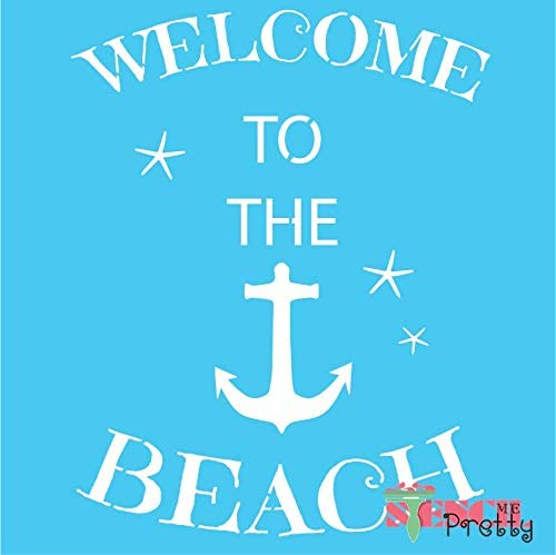 Welcome to The 5 ☆ very popular Quantity limited Beach Nautical DIY Anchor Stencil - Ocean