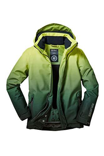 Killtec Jungen Pendaro Jr Skijacke/Funktionsjacke Mit Kapuze Und Schneefang, 10.000 Mm Wassersäule, Wasserdicht, helllime, 128