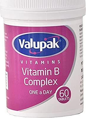 Valupak Vitamins Vitamin B Complex 60 Tablets