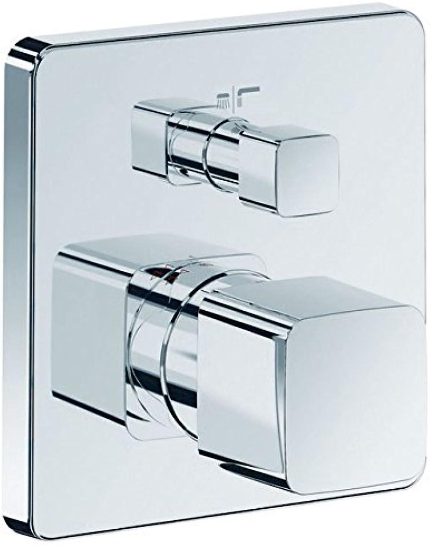 Ideal Standard H4504AA JADO Unterputz-Einzel-Thermostat Batterie JES Chrom