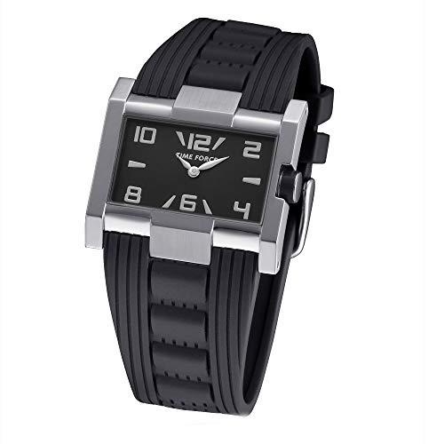Time Force Reloj Analógico para Mujer de Cuarzo con Correa en Caucho TF4033L01