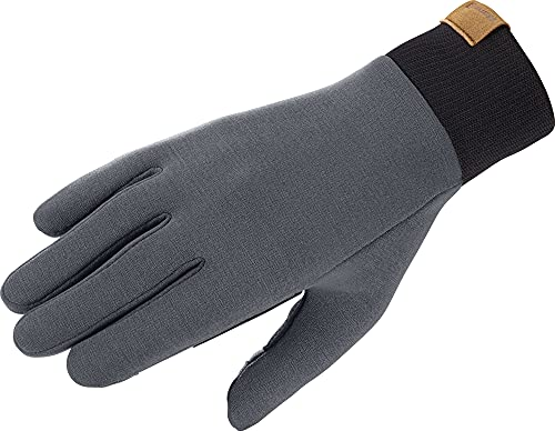 SALOMON OUTLIFE Multi Glove U Fodera per Guanti, Legno di Ebano, L Unisex-Adulto