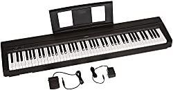 Yamaha P71 Weighted Action Digital Piano - Best Piano Keyboards and Digital Pianos