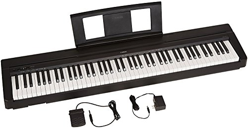 YAMAHA P71 88-Key Weighted Action Digital Piano with Sustain Pedal and Power Supply (Amazon-Exclusive)