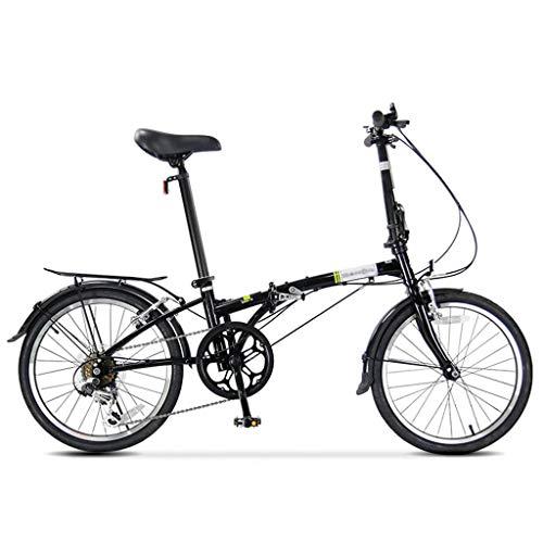 N /A Bicicletta Pieghevole da 25 Pollici a velocità variabile, Bambini Mountain Bike Ragazzo e Ragazza Bicicletta da Donna Pedale Studente Studenti e