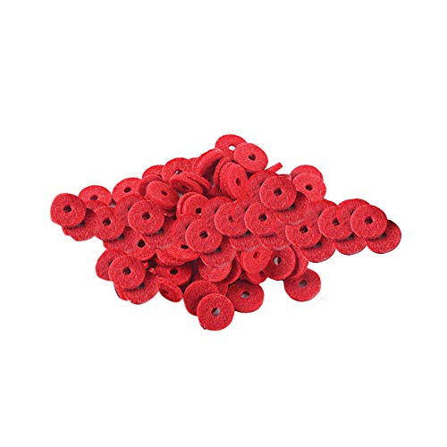 Find Discount 12mm Dia Felt Piano Washers Front Rail Punchings Keyboard Balance Repair Parts Pack of...