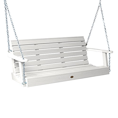 Highwood AD-PORW1-WHE Weatherly Porch Swing, 5 Feet, White