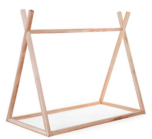 Childhome structure tipi en bois Taille lit 70x 140