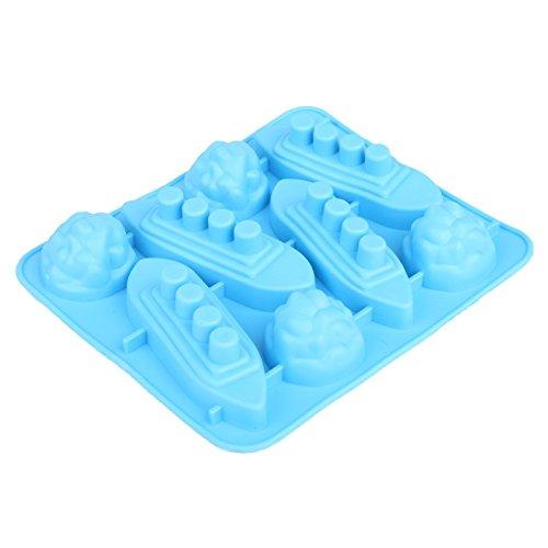 Stampo in silicone a forma di divertente per cioccolato, cubetti di ghiaccio vassoio partito e favori (Titanic)