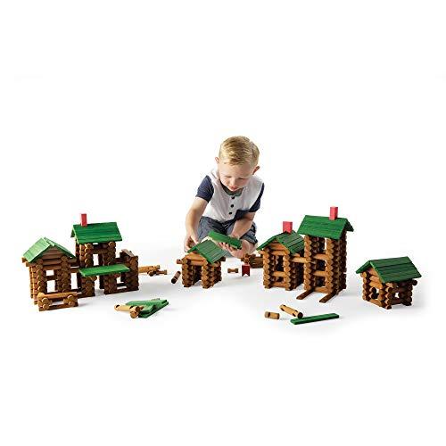 Fat Brain Toys Timber Log Builders - 450 Piece Set Building...