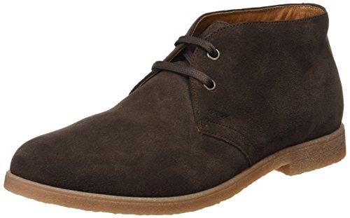 Geox Męskie buty U Dwain A Desert Boots, brązowy - Br?zowa czekolada - 45 EU
