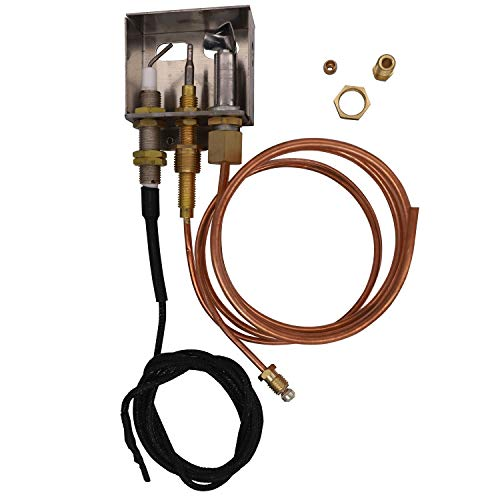 Meter Star Propane Gas Fire Pit Heater Replacement Parts Flame Pilot Burner Assembly Kit