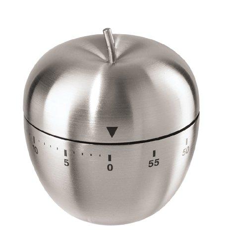 Oggi Temporizador para cocina de acero inoxidable, manzana, 60 minutos
