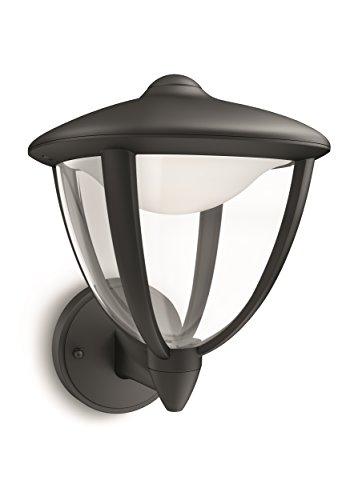 Philips myGarden Robin LED Wandleuchte, 1-flammig, schwarz, 154703016