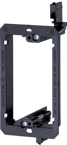 Arlington LV1-1CS Single Gang Low Voltage Mounting Bracket Device