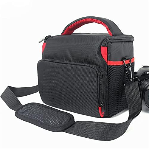 Alysays Bolso de cámara DSLR de Alta Capacidad para Nikon D5000 D850 D5300 D7500 D7200 D7100 D90 D5600 P900 D40 Cámara de cámara de cámara Nikon Bag