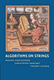 Algorithms on Strings - Maxime Crochemore