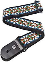 Planet Waves Woven Guitar Strap, Stained Glass