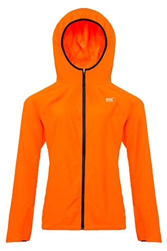 Mac in a Sac® - Veste Ultra Respirante - Unisexe - Repliable - Orange Fluo - XXL