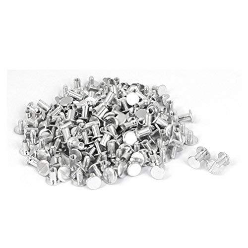 Tornillos de encuadernación Álbumes de recortes Catálogos M5 x 8 mm Encuadernación de aluminio Tornillos de Chicago Postes