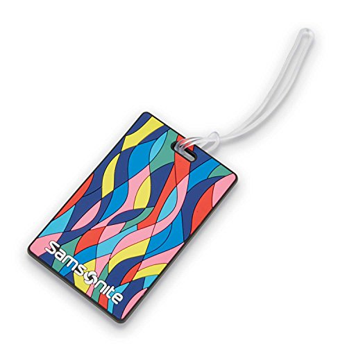 Samsonite Designer Luggage ID Tag, Vectorfunk, One Size