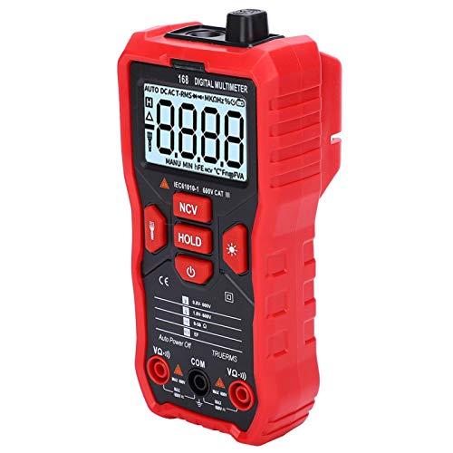 휴대용 멀티 미니 저항 AC DC LCD 디지털 테스터 라디오 애호가를위한 테스트 프로브가있는
