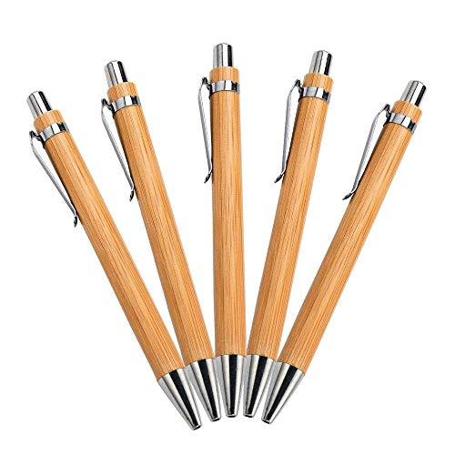 Bambus Kugelschreiber (5 Stück)
