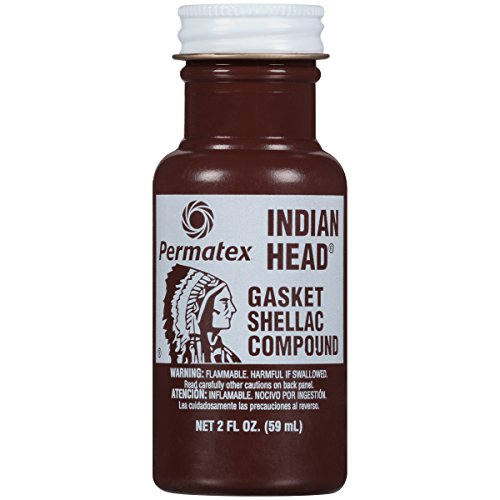 Permatex 20539 Indian Head Gasket Shellac Compound, 2 oz.