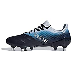 Black and Blue Adidas Kakari Light Rugby Boot