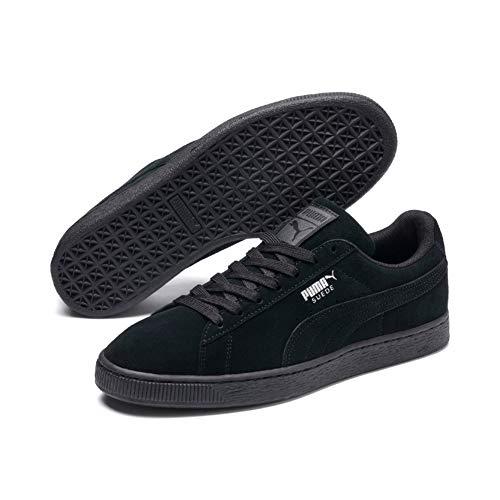 Puma Suede Classic+', Sneaker Unisex – Adulto, Nero (Black-Dark Shadow), 43 EU