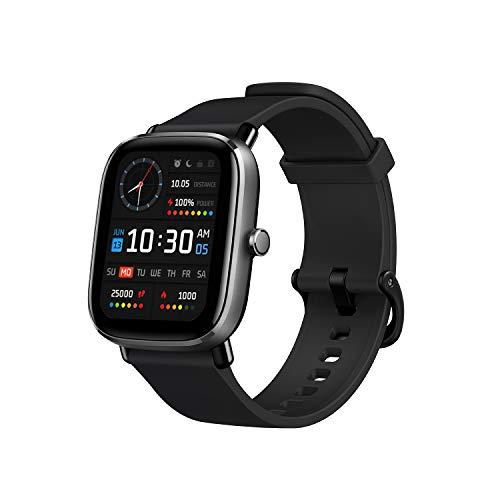 Amazfit GTS 2 Mini Reloj Inteligente Smartwatch Fitness Duración de Batería 14 días 90 Modos Deportivos Medición del Nivel de SpO2 Monitorización de Frecuencia Cardíaca Sueño Negro