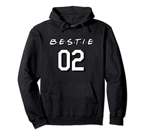 Cute Best Friend Sister Brother Shirt Gifts Forever 2 Bestie Pullover Hoodie
