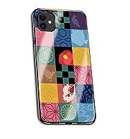 鬼滅の刃 Demon Slayer iPhone12 mini IPHONE 12 12mini ケース スマートフォン 強化ガラスケース 鏡面ガラス ハードケース 携帯電話ケース 擦り傷防止 耐衝撃 スマホケース アイフォン スマホカバー カバー コスプレ(01)