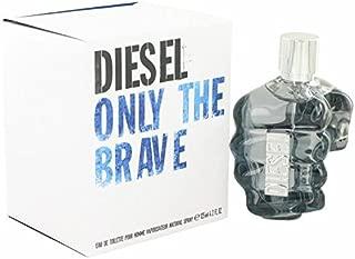 Only the Brave by Diesel Eau De Toilette Spray 4.2 oz for Men - 100% Authentic