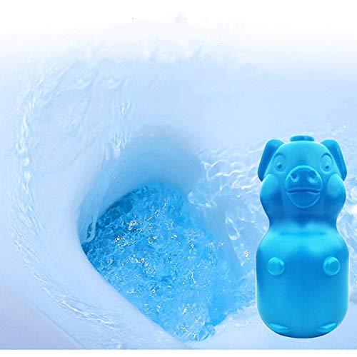 FASD Nettoyant WC Automatique Chasse d'eau, WC Helper Bleu Nettoyage Bubble Désodorise Salle De Bains Hôtel 65 Produits Chimiques Ménagers D'utilisation De Jour (3Pcs)