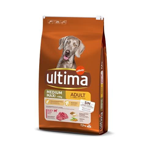 Ultima Cibo per Cani Medium-Maxi Adult con Manzo - 7.5 kg