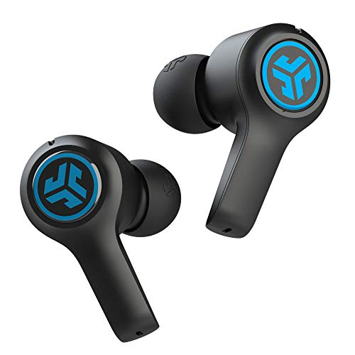 JLab JBuds Air Play Gaming True Wireless Earbuds | 30+ Total Hours of Bluetooth 5 Playtime Super-Low Latency for Mobile Gameplay | Built-in Microphone | Dual Connect | EQ3 Sound / C3 Chatting