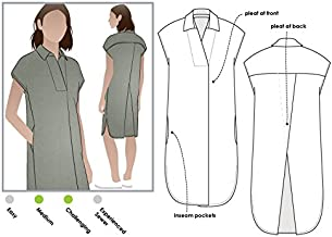 Style Arc Sewing Pattern - Autumn Dress (Sizes 04-16) - Click for Other Sizes Available