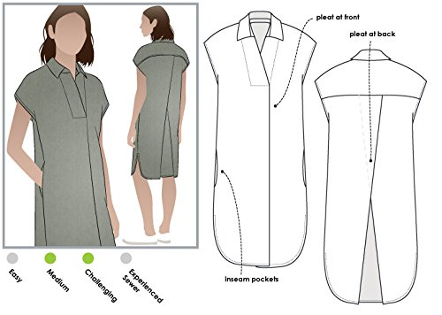 Style Arc Sewing Pattern - Autumn Dress (Sizes 18-30) - Click for Other Sizes Available