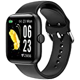Smartwatch, KUNGIX Orologio Fitness Tracker collegato con GPS, IP68 Activity Tracker Impermeabile con...