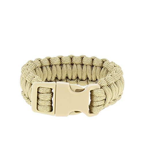 Mil-Tec Bracelet de Paracorde (Coyote, Small)