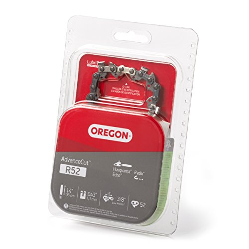 Oregon R52 AdvanceCut 14-Inch Chainsaw Chain Fits Husqvarna, Echo, Ryobi
