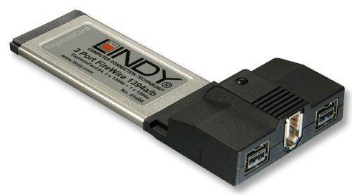 LINDY ExpressCard FireWire 1394b & 1394a Karte, 3 Port