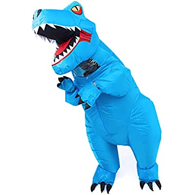 Amazon - 20% Off on Inflatable Dinosaur T-Rex Costume Adult Blow up Halloween Dino Suit