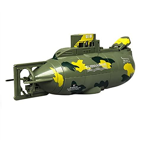 6CH Infrarossi Mini Yacht Elettrico RC Sottomarino Ricaricabile Immersione Nave Barca Educazione Drone Modello Di Simulazione Canottaggio Da Corsa Giocattolo Nautico Bambini Bambini Regalo Aldult