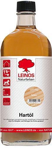Leinos 240 Hartöl für Innen 002 Farblos 0,25 l